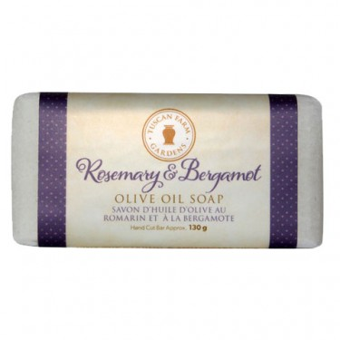 Rosemary & Bergamot Organic Olive Oil Soap